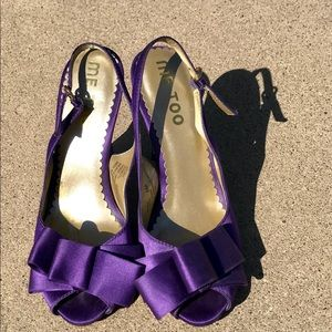 Me Too purple heels